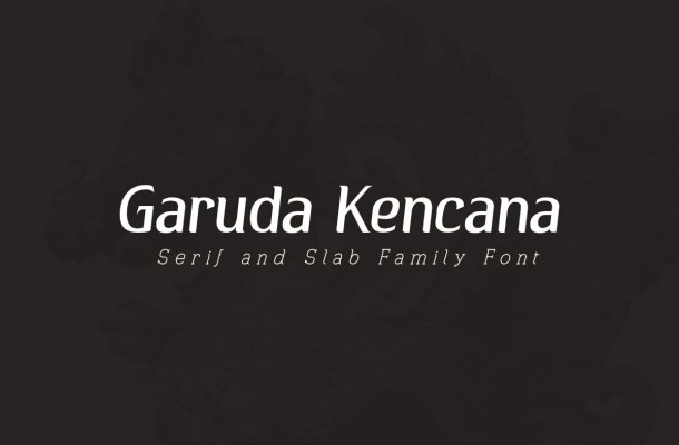 Garuda Kencana – Modern Serif Font