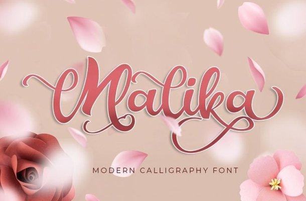 Malika Script Font