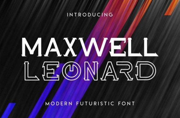 Maxwell Leonard Font