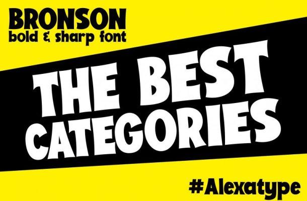 Bronson – Playful Font
