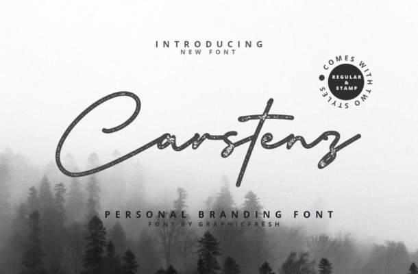 Carstenz Vintage Script Font