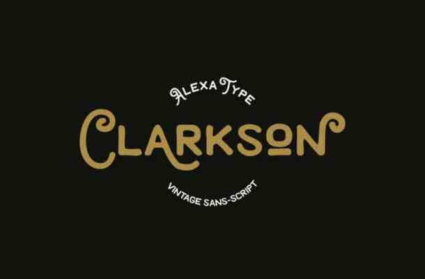 Clarkson Vintage Font