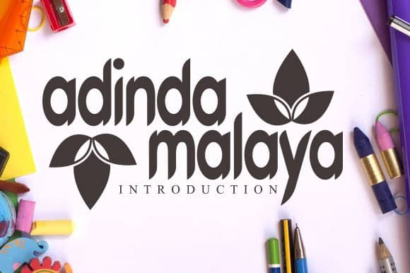 Adinda Malaya Display Font