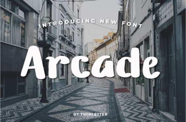 Arcade Script Font