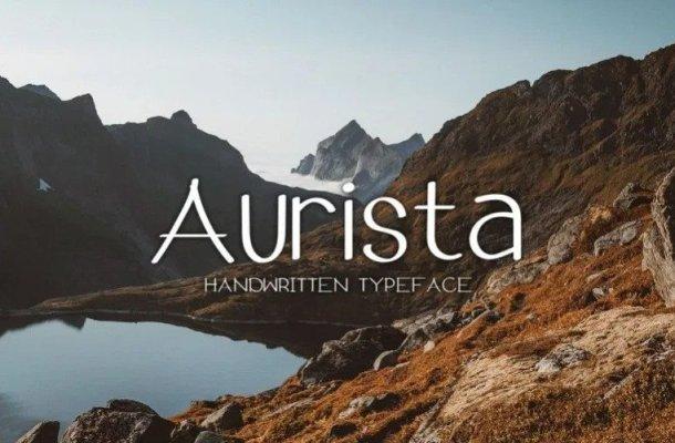Aurista Handwritten Sans Font