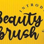 Beauty Brush Font