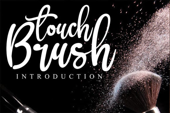 Brush Touch Calligraphy Font
