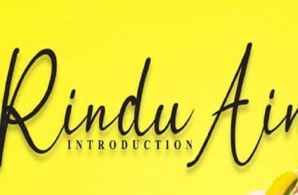 Rindu Ain Calligraphy Font
