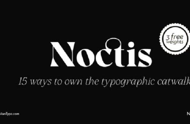 Noctis – Free Demo Font