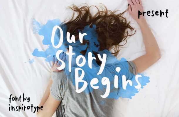 Our Story Begins Font