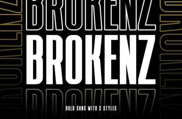 Brokenz – Bold Sans Serif Font