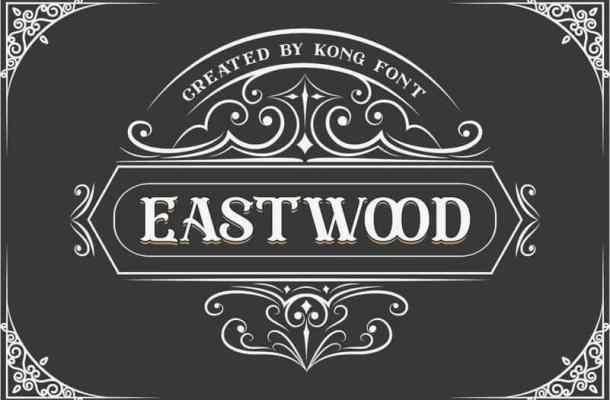 Eastwood Display Font