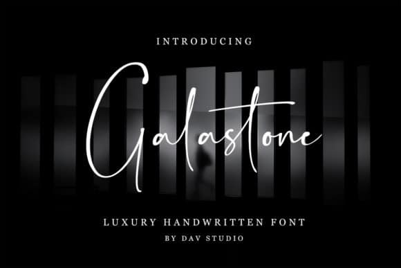 Galastone Handwritten Font