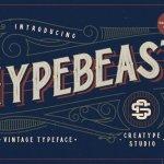 Hypebeast – Layered & Vintage Font