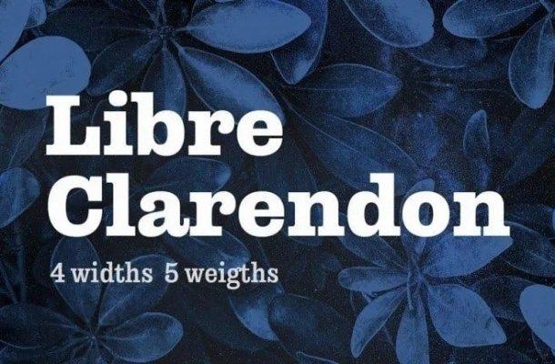 Libre Clarendon – Slab Serif Font