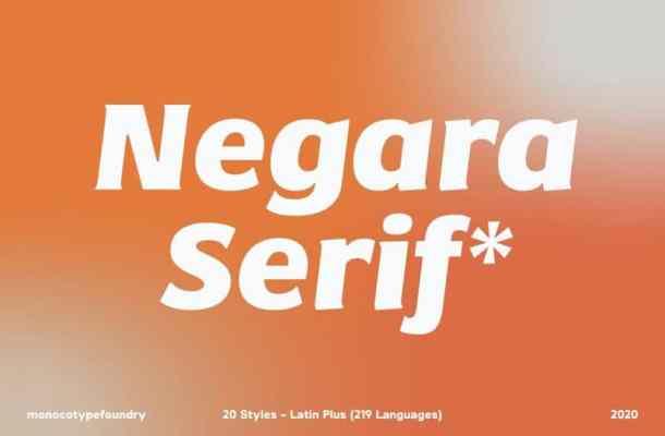 Negara Serif Font