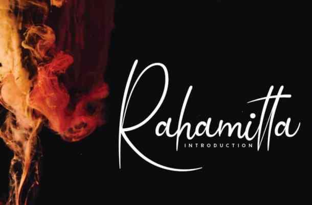 Rahamitta Handwritten Font