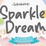 Sparkle Dream Handwritten Script Font