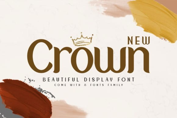New Crown Sans Serif Font