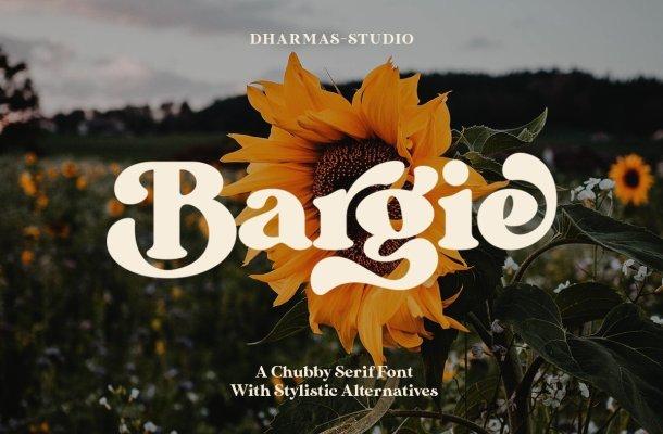 Bargie Serif Font Free