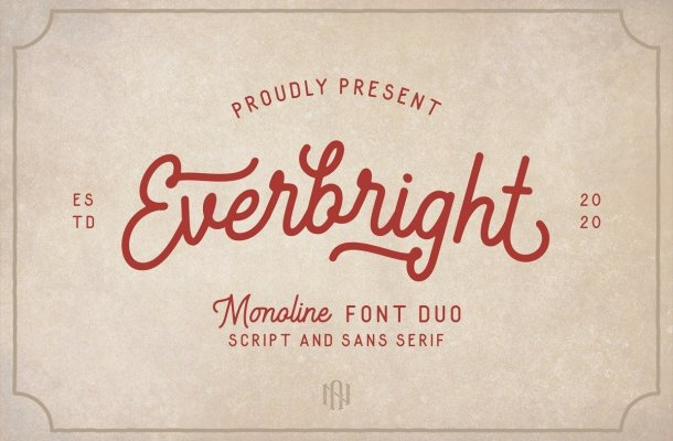 Everbright Font Duo Free