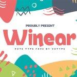 Winear Display Font Free