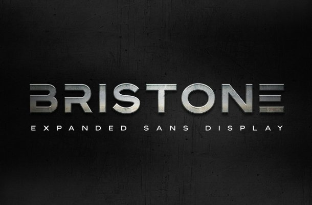 Bristone Sans Display Typeface