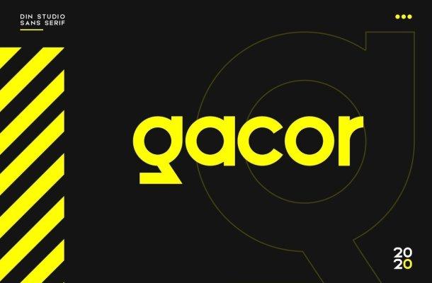 Gacor Urban Sans Serif Font