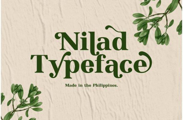 Nilad Serif Font Free