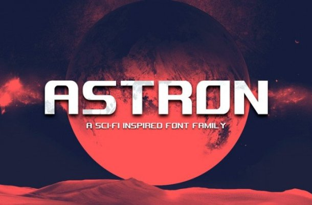 Astron Display Font Free