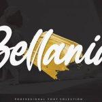 Bellania Script Font Free