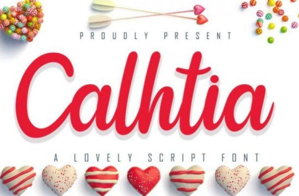 Calhtia Script Font Free