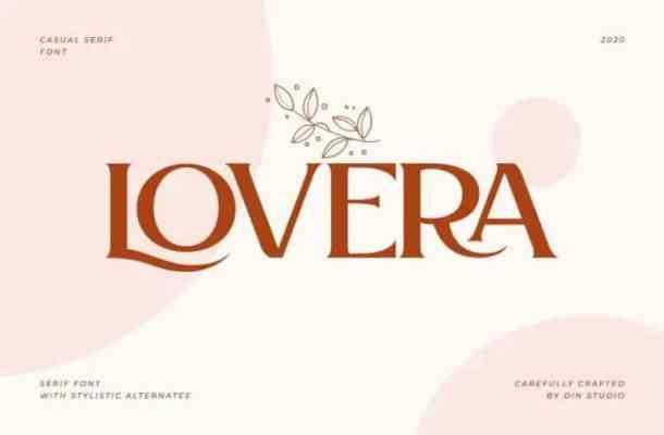 Lovera Serif Font Free