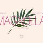 Magnolla Sans Serif Font