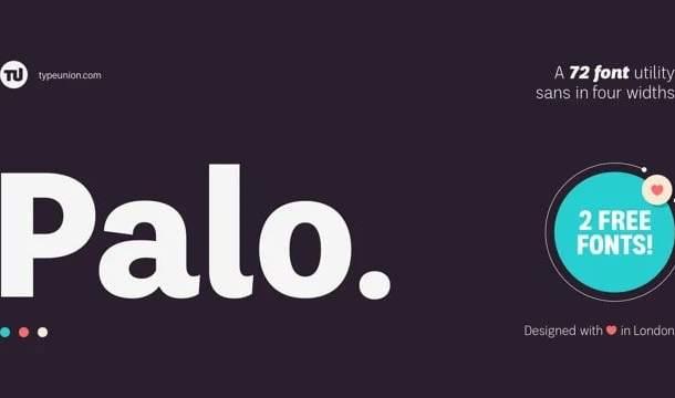 Palo Sans Serif Font