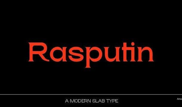 Rasputin Serif Font Demo