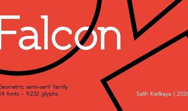 SK Falcon Sans Serif Font Demo