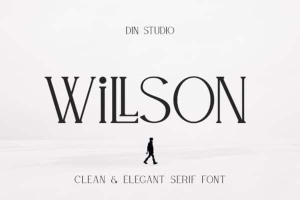 Willson Serif Font Free