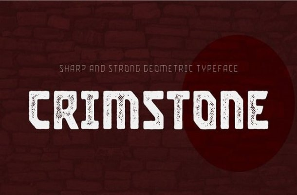 Crimstone Display Font Free