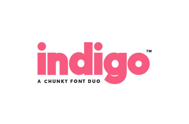 Indigo Sans Duo Font