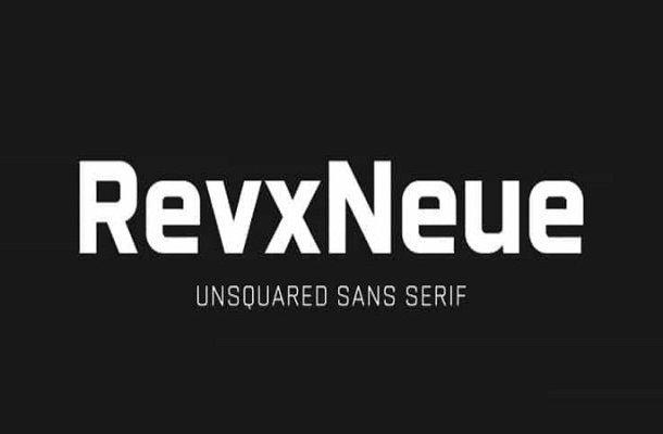 Revx Neue Sans Serif Font Demo
