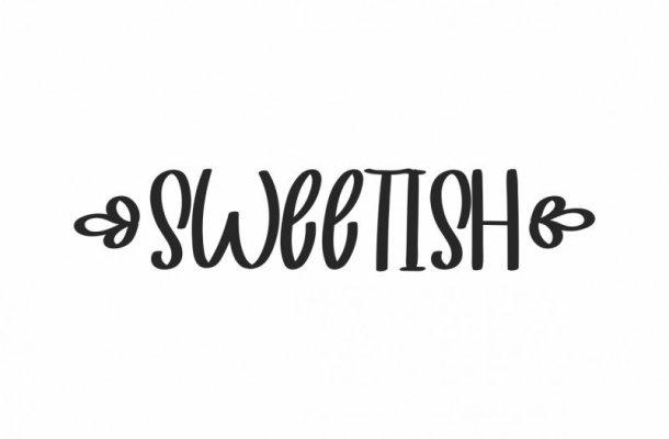 SWEETISH Font Duo Free