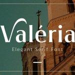 Valeria Elegant Serif Font