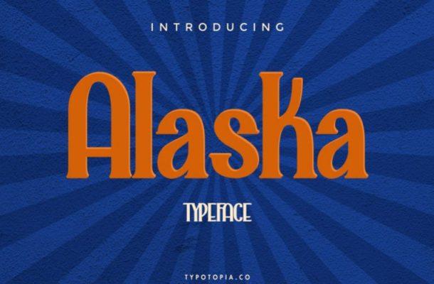 Alaska Display Font Free