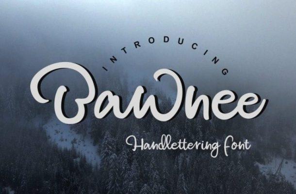 Bawnee Script Font Free