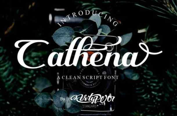 Cathena Script Font Free