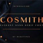 Cosmith Sans Serif Font