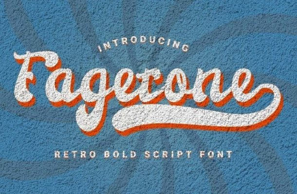 Fagetone Script Font Free