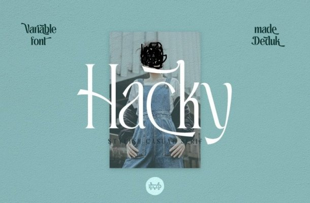 Hacky Serif Font Free