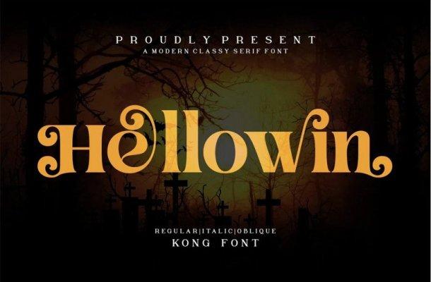 Hellowin Serif Font Free